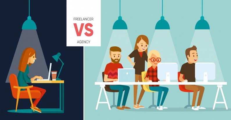 Lựa chọn các công ty hoặc nhóm freelancer thiết kế website uy tín.