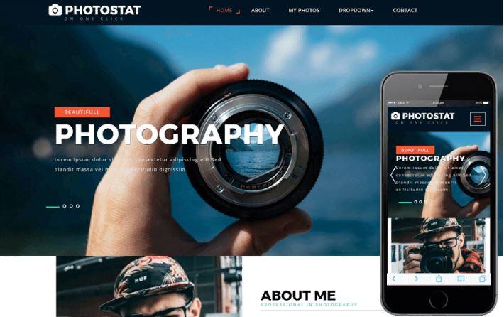 Top 10 mẫu website thư viện ảnh.