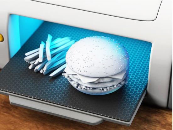 Công nghệ in 3D được ứng dụng trong ngành thực phẩm.
