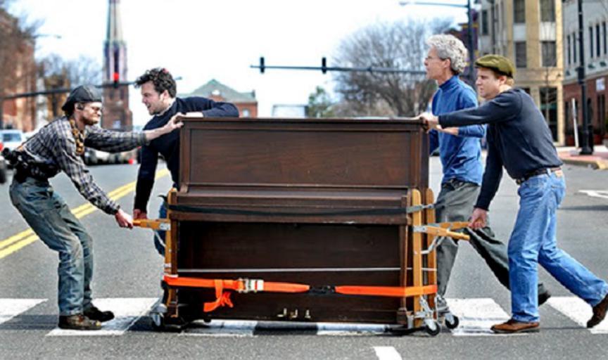 Những lưu ý quan trọng để vận chuyển đàn piano